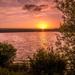 Sunset over Paimpont Lake... by vignouse