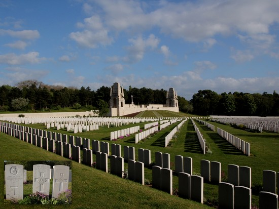 Etaples military cemetary by busylady