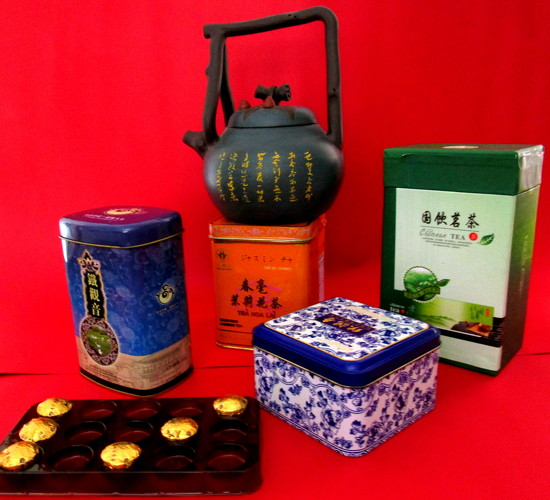 Tins & a box of delightful Chinese teas, given to me by my Chinese friends by 777margo