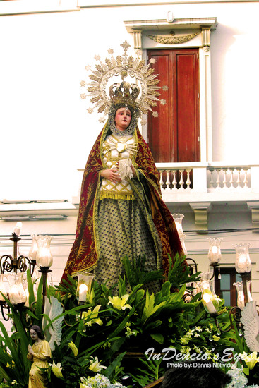 Flores de Maria - La Dolorosa by iamdencio