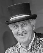 27th May 2015 - 50 mono portraits at 50mm : No. 36 : Chatsworth Organ Grinder