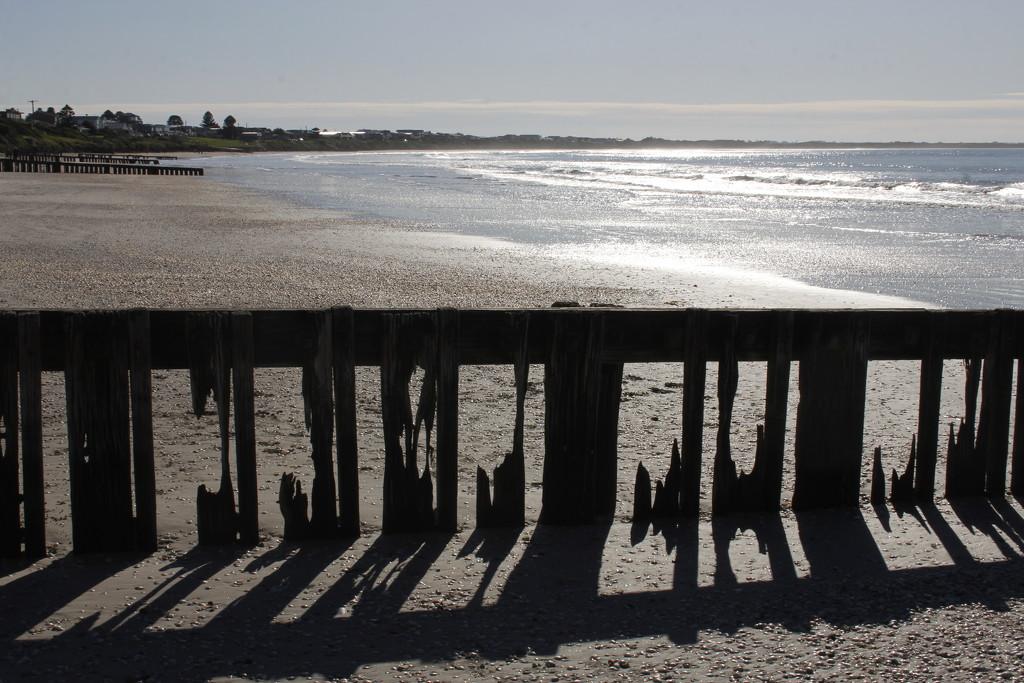 Sun, sea, sand, shells & shadow.... by gilbertwood