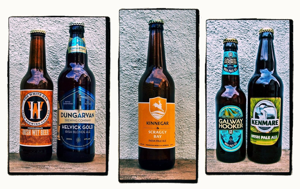 Irish Craft Beer Triptych... by jack4john