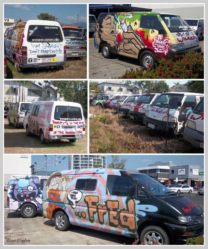 Campervan Collage by pcoulson