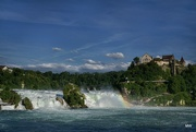 31st May 2015 - 2015-05-31b Rhine Falls / dinner with a view