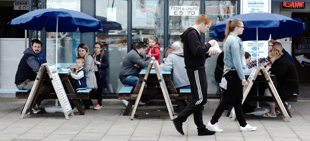 Fish and Chips People by phil_howcroft