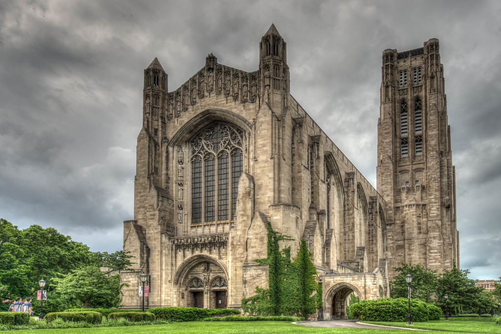 Rockefeller Chapel, University of Chicago by taffy
