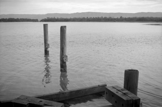 Old pier by peterdegraaff