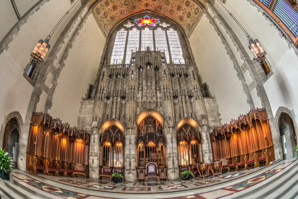 The Altar at Rockefeller Chapel by taffy