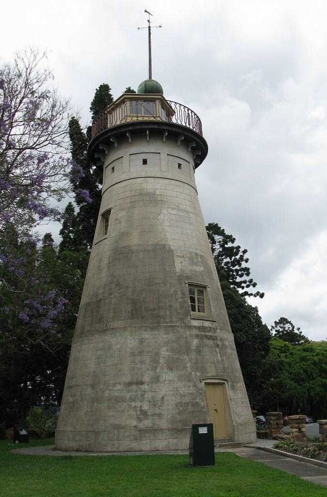 The Old Windmill Wickham Terrace Brisbane by loey5150