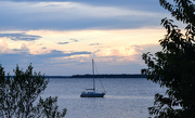 10th Jun 2015 - Sailboat at Sunset