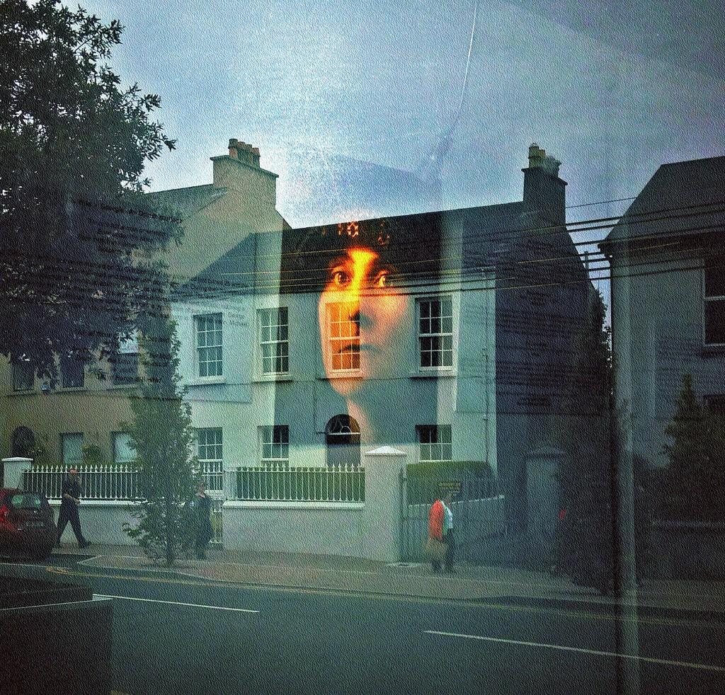 Mrs Yeats reflected by jack4john
