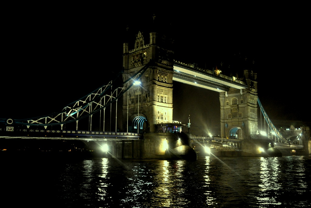 Bridge by Night by andycoleborn