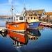 Boats reflected by swillinbillyflynn