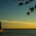"""sunset in port dover"" by summerfield"