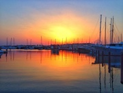 2nd Jul 2015 - Sunset on the harbour.