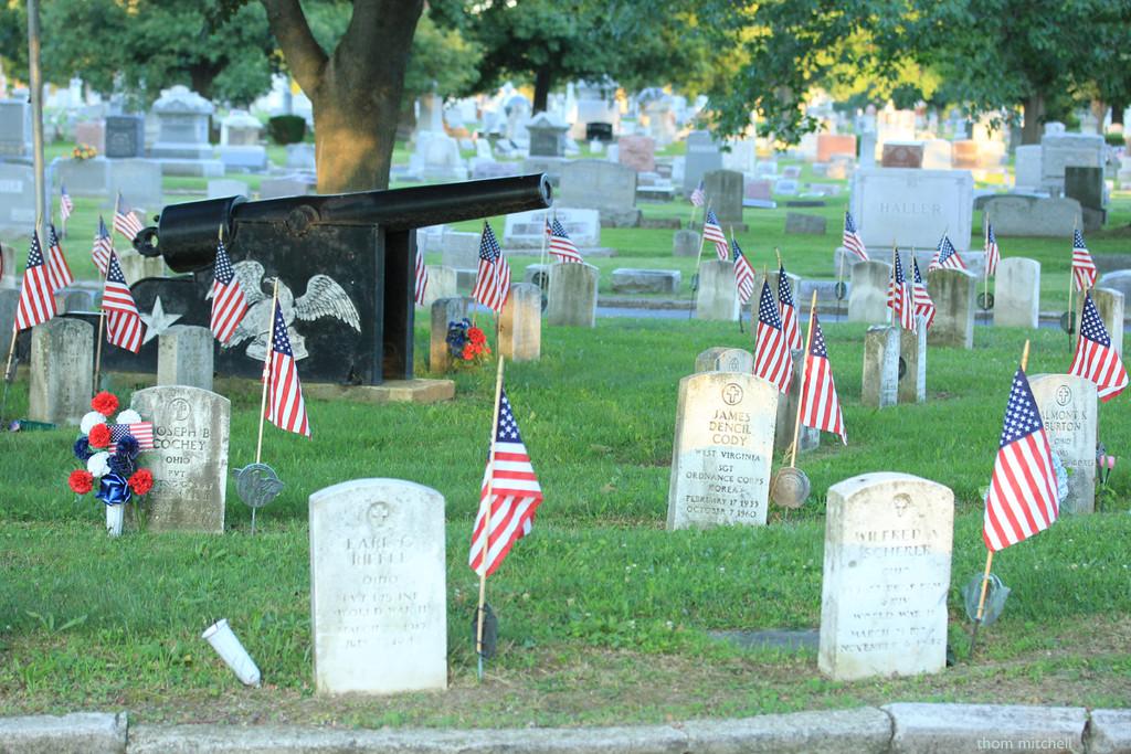 Oakwood Cemetery, Fremont, Ohio by rhoing
