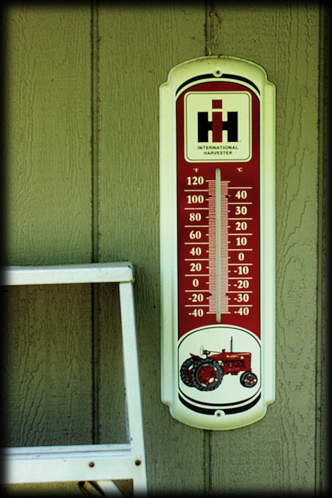 Harvester Thermometer by olivetreeann