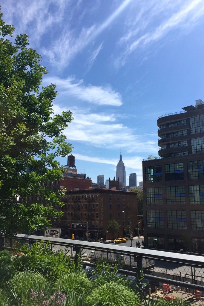 Empire State from the Highline by kjarn