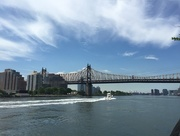 30th Jun 2015 - Boat zooming by on East River