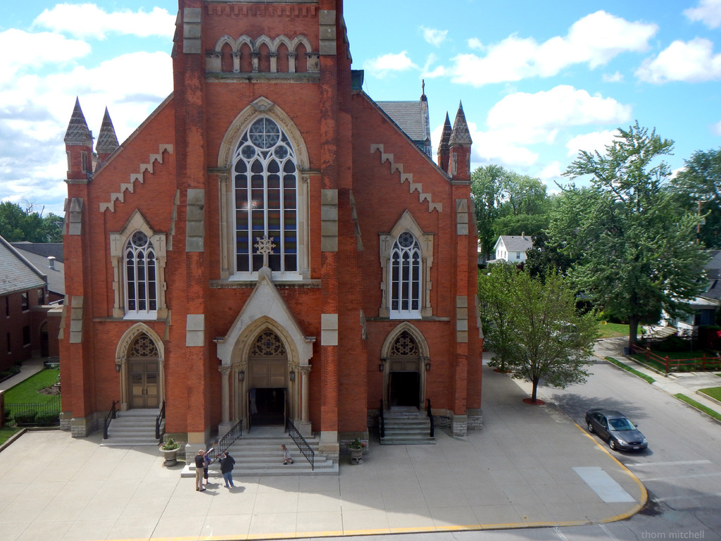 St. Joseph's Church, Fremont, OH by rhoing