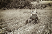 10th Jul 2015 - Working with the Tractor