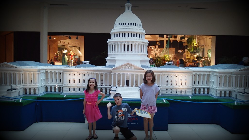 My Kids at the Lego US Capitol by alophoto
