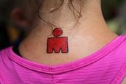 """22nd Jul 2015 - Her """"Ironman"""" Tattoo"""