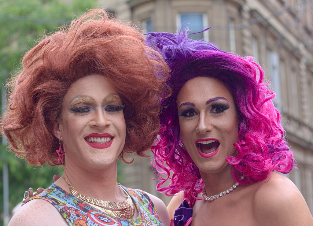 Nottingham Pride : Hair Colours by phil_howcroft