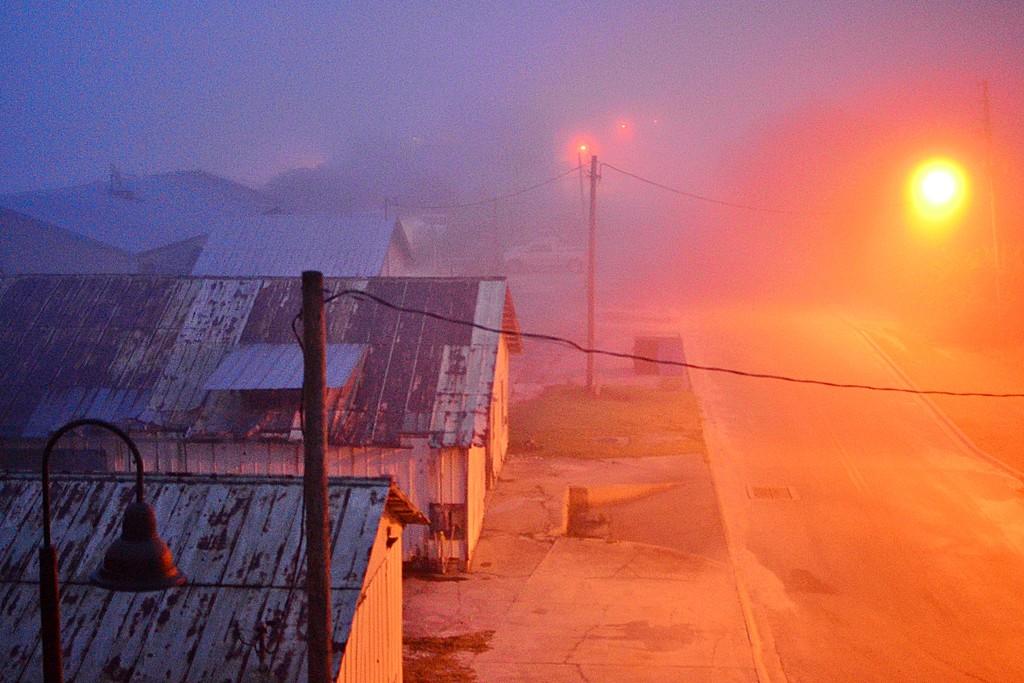 Water Street Fog by soboy5