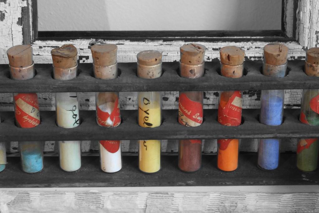 Mystery Vials  by linnypinny