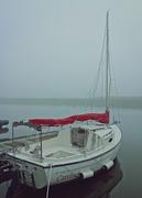 29th Jul 2015 - Misty morning sailboat
