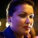 Anna Netrebko, after the opera ended.