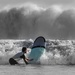 Man Battles Wave by darylo