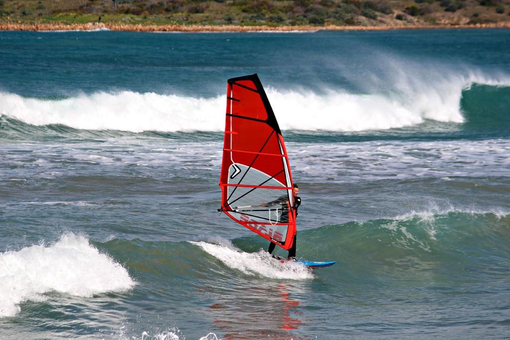 Windsurfing by leestevo