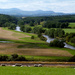 Looking down on the River Eden. by shirleybankfarm