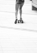8th Aug 2015 - Hot Pants on skate board