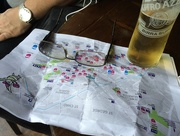 10th Aug 2015 - Trail map and refreshing break:-)