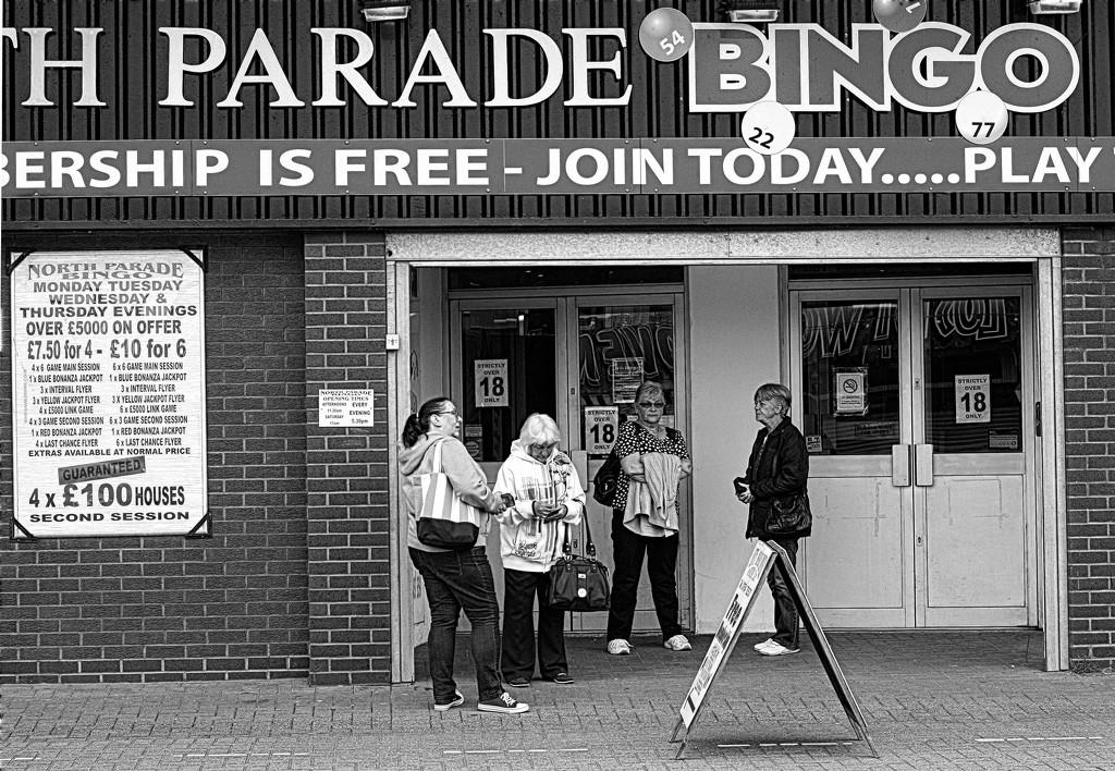 North Parade Bingo Ladies by phil_howcroft