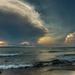 Cloud Drama on Lake Michigan by taffy