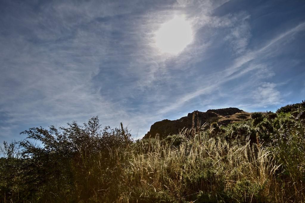 Sun over Malvern Hills by jyokota