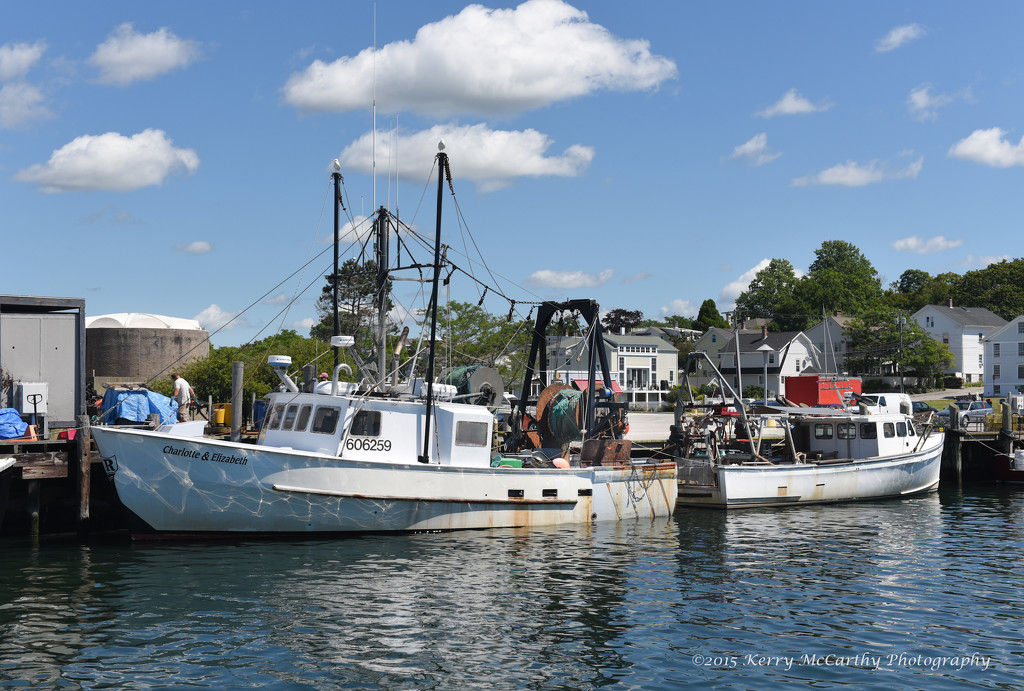 Day at the docks by mccarth1