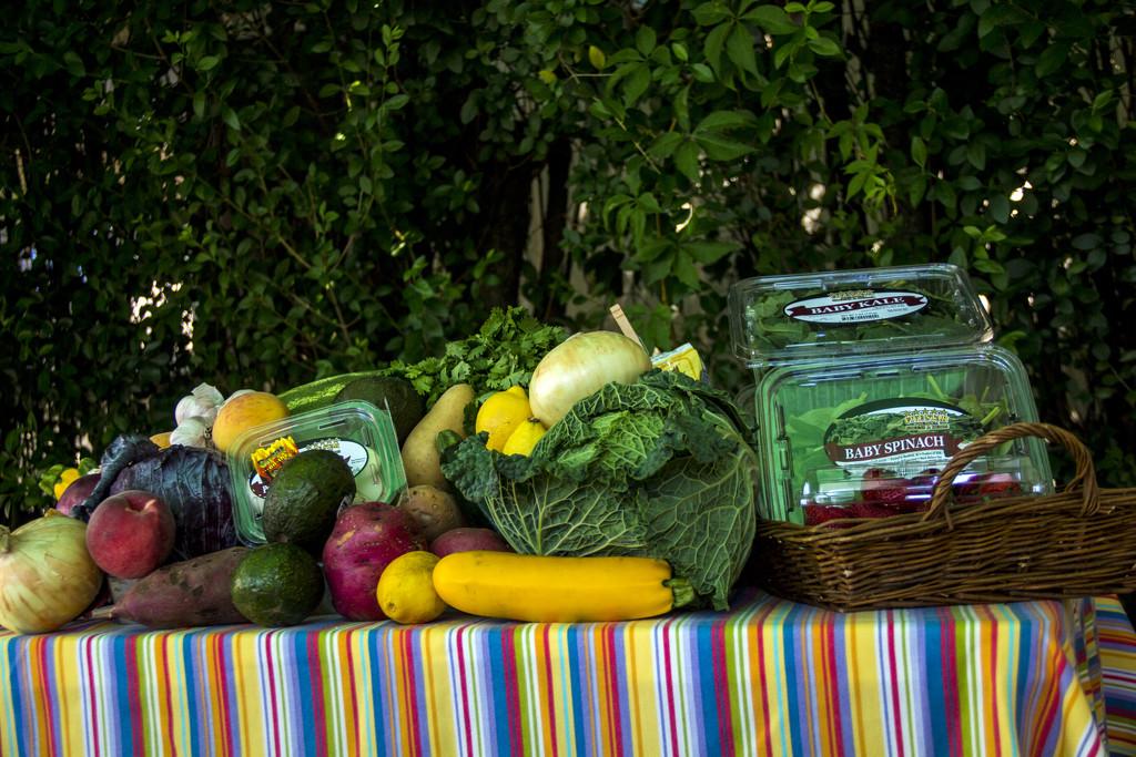 Farm Fresh Veggies by hjbenson