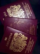 17th Aug 2015 - Annoying hubby has two passports......