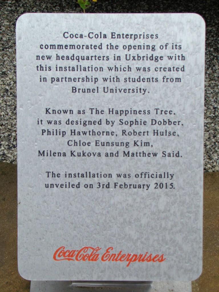 Coca-Cola Statue Instuctions by bulldog