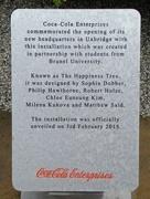 14th Aug 2015 - Coca-Cola Statue Instuctions