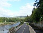 16th Aug 2015 - Holiday Day Two: Pitlochry Salmon Ladder