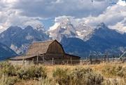 26th Aug 2015 - The Iconic Teton National Park