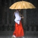 Lady in the Rain by darylo