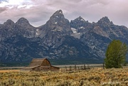 27th Aug 2015 - Barn in the Tetons